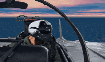 Fleet Defender F-14 Tomcat Simulation screenshot gameplay