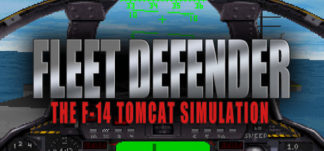 Fleet Defender F-14 Tomcat Simulation game