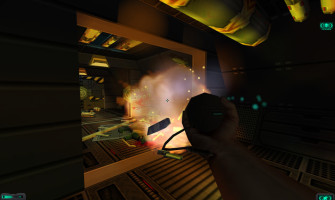 System Shock 2 screenshot gameplay