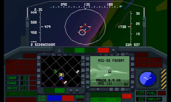 F-117 Nighthawk Stealth Fighter 2.0 screenshot gameplay