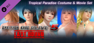 DEAD OR ALIVE® 5 Last Round: Tropical Paradise Costume & Movie Set