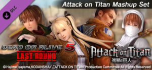 DEAD OR ALIVE® 5 Last Round: Attack on Titan Mashup Set