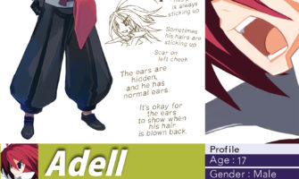 disgaea 2 pc art book adell