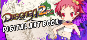 disgaea 2 pc art book main art
