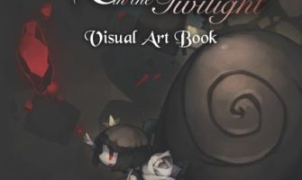 A Rose in the Twilight - Digital Art Book front